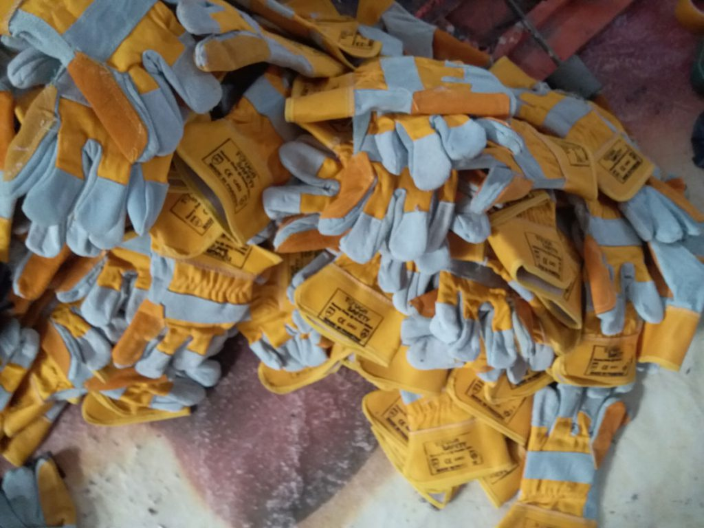 DOUBLE PALM LEATHER GLOVES MANUFACTURER